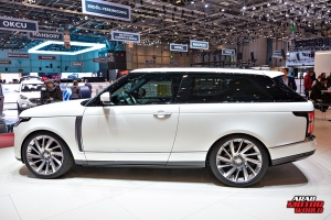 Land Rover Range Rover Trinity Geneva International Motor Show 2018 Arab Motor World