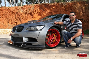 BMW E92 Lberty Walk Lebanon tuned Cars Arab Motor World (1)