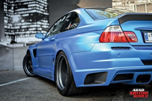 Blue-BMW-Asuka-Widebody-kit-M3-HPF_Arab-Motor-World-03