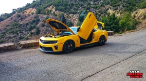 Camaro Transformers Lebanon - Arab Motor World (10)