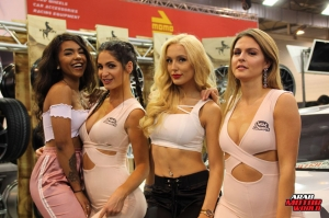 The Girls of Essen Tuning Show Arab Motor World Heels and Wheels