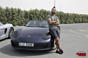Porsche 718 Boxster GTS Test Drive Arab Motor World (16)