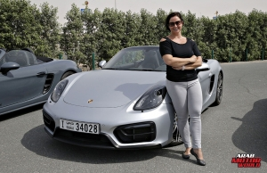 Porsche 718 Boxster GTS Test Drive Arab Motor World (17)
