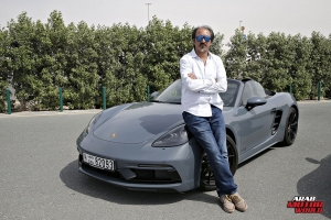 Porsche 718 Boxster GTS Test Drive Arab Motor World (18)