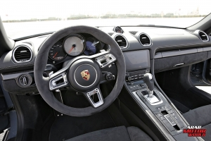 Porsche 718 Boxster GTS Test Drive Arab Motor World (29)