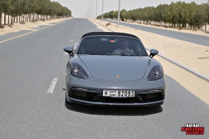 Porsche 718 Boxster GTS Test Drive Arab Motor World (3)
