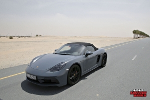 Porsche 718 Boxster GTS Test Drive Arab Motor World (5)