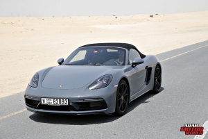Porsche 718 Boxster GTS Test Drive Arab Motor World (6)