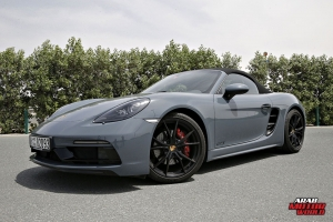 Porsche 718 Boxster GTS Test Drive Arab Motor World (8)