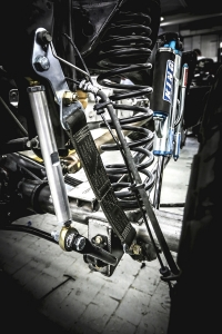 Ram Rebel TRX Concept front suspension