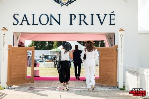 Boodles Ladies Day Salon Prive at Blenheim Palace 31st August 2018 by Stephanie O'Callaghan and Nicole Hains