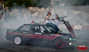 Sarah Hamadeh Stunt Woman Arab Motor World (6)