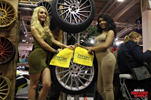 The Girls of Essen Tuning Show Arab Motor World Heels and Wheels (0)