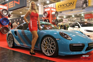 The Girls of Essen Tuning Show Arab Motor World Heels and Wheels (10)