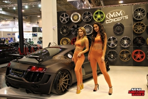The Girls of Essen Tuning Show Arab Motor World Heels and Wheels (14)