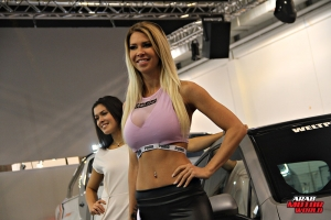 The Girls of Essen Tuning Show Arab Motor World Heels and Wheels (15)