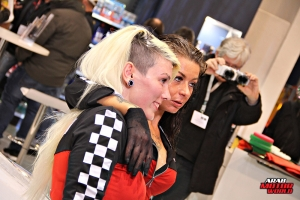 The Girls of Essen Tuning Show Arab Motor World Heels and Wheels (29)