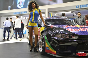 The Girls of Essen Tuning Show Arab Motor World Heels and Wheels (34)